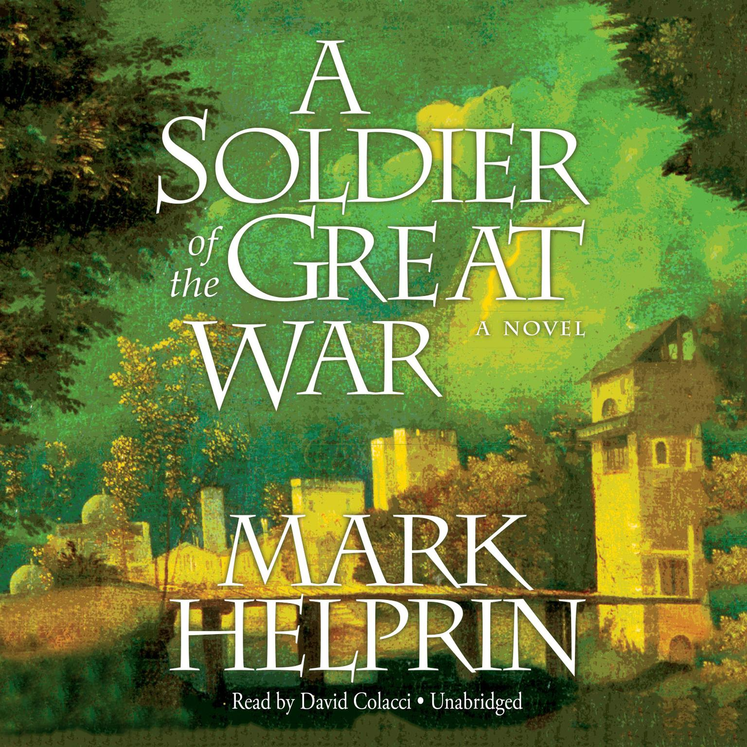 Printable A Soldier of the Great War Audiobook Cover Art