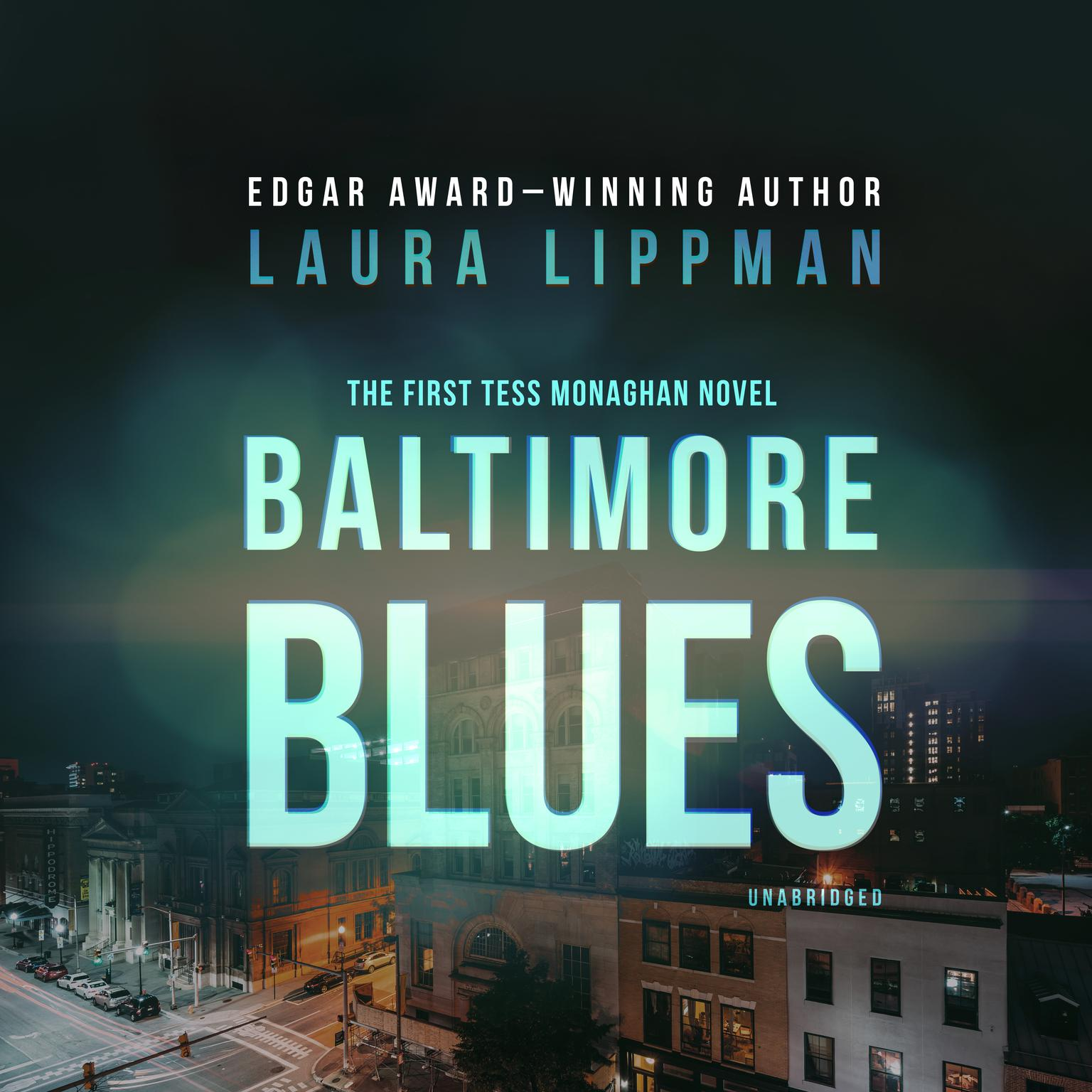 Printable Baltimore Blues: The First Tess Monaghan Novel Audiobook Cover Art