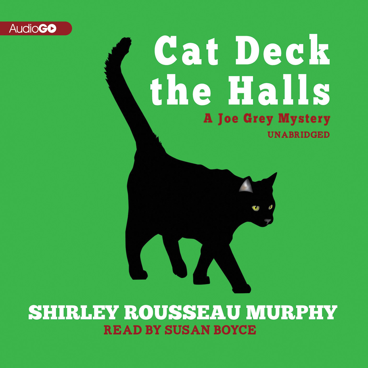 Printable Cat Deck the Halls: A Joe Grey Mystery Audiobook Cover Art