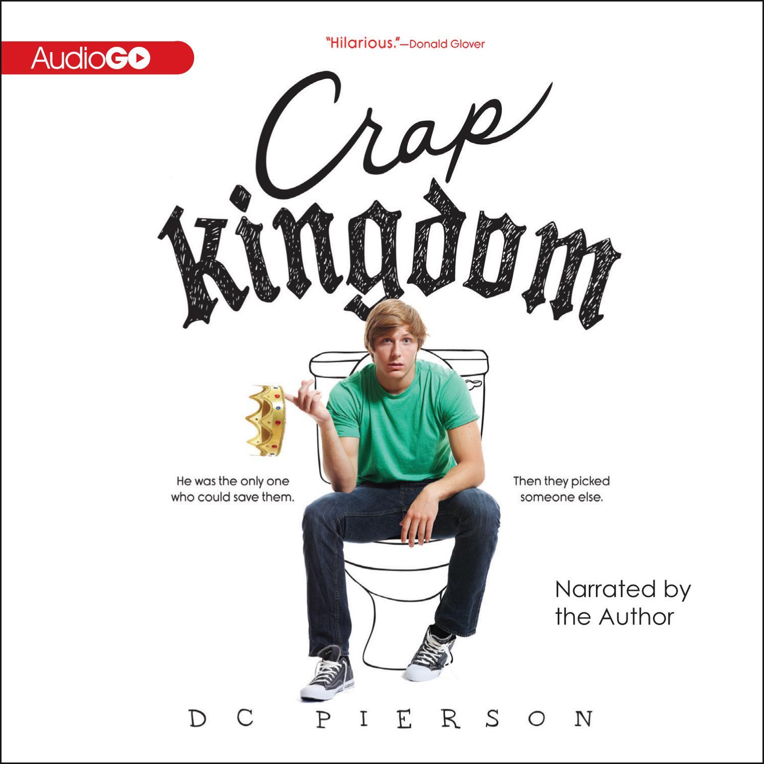 Printable Crap Kingdom Audiobook Cover Art