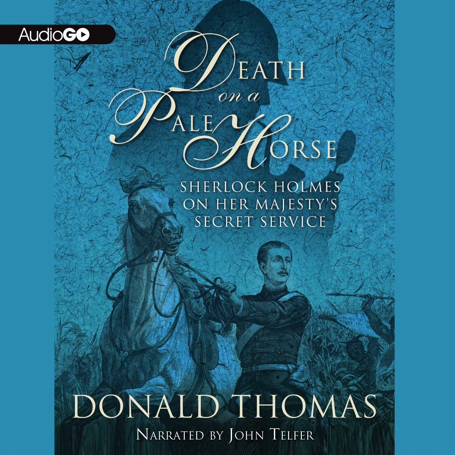 Printable Death on a Pale Horse: Sherlock Holmes on Her Majesty's Secret Service Audiobook Cover Art