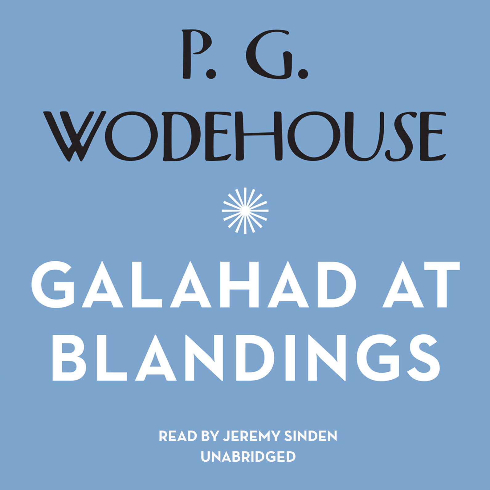 Printable Galahad at Blandings Audiobook Cover Art