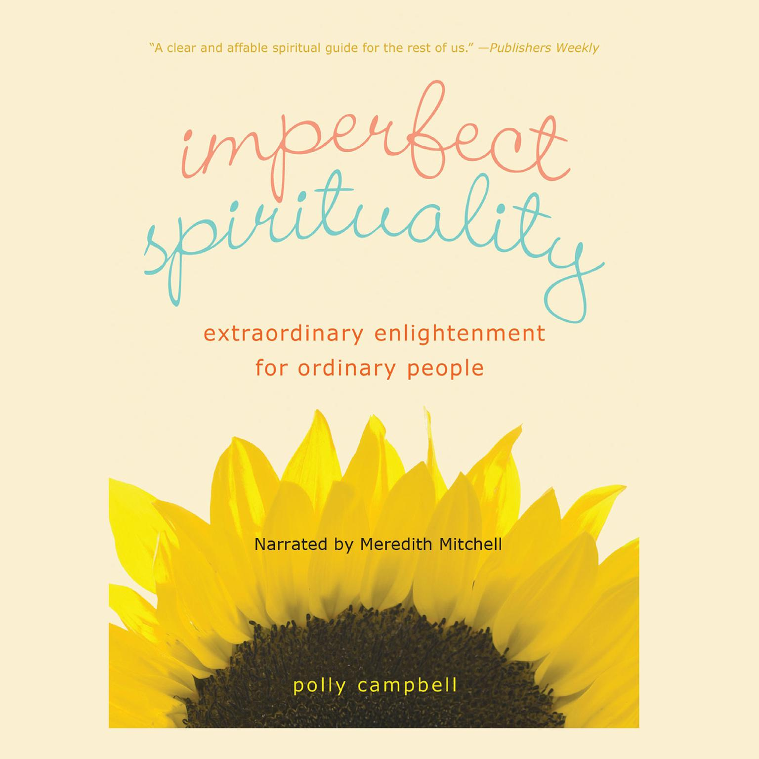 Printable Imperfect Spirituality: Extraordinary Enlightenment for Ordinary People Audiobook Cover Art
