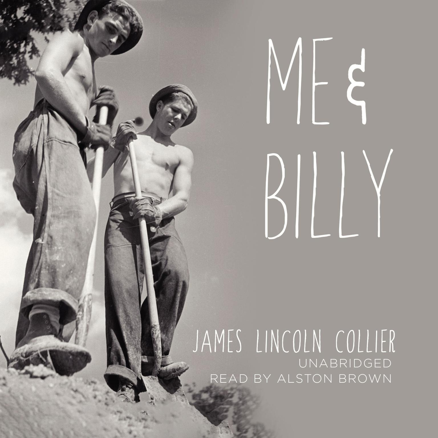 Printable Me and Billy Audiobook Cover Art