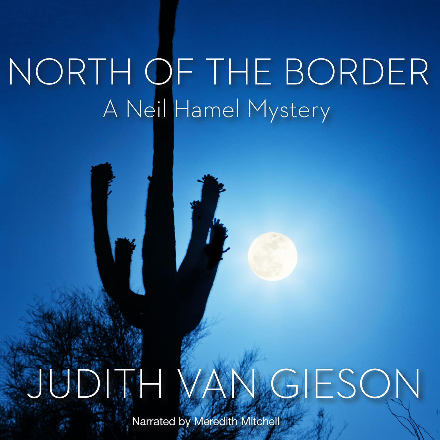 Printable North of the Border Audiobook Cover Art