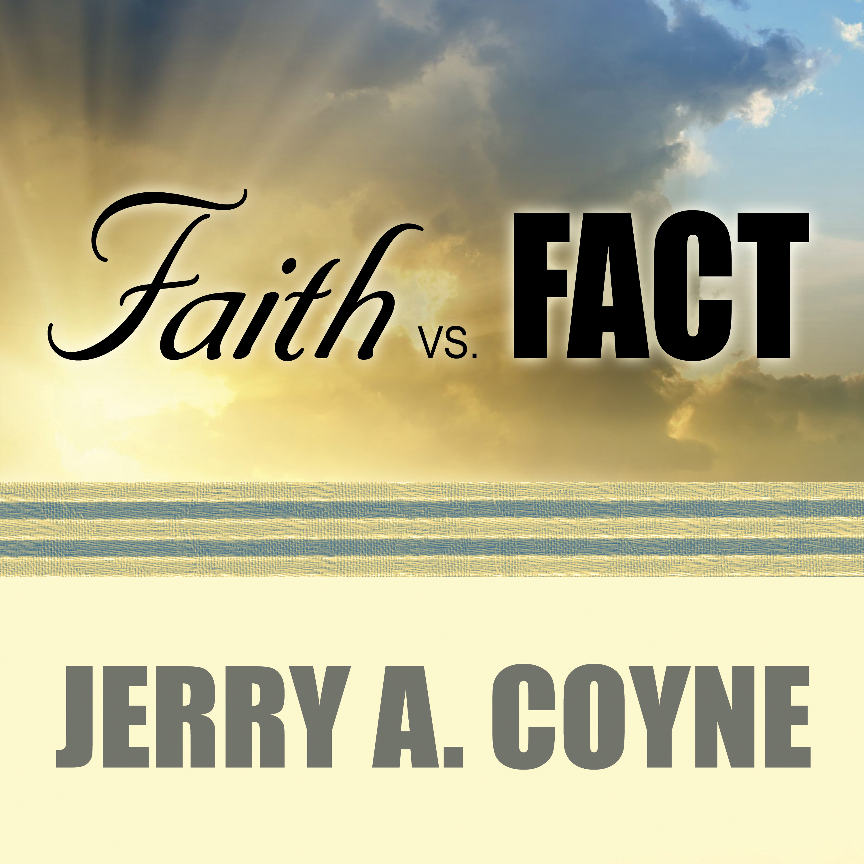Printable Faith Versus Fact: Why Science and Religion Are Incompatible Audiobook Cover Art