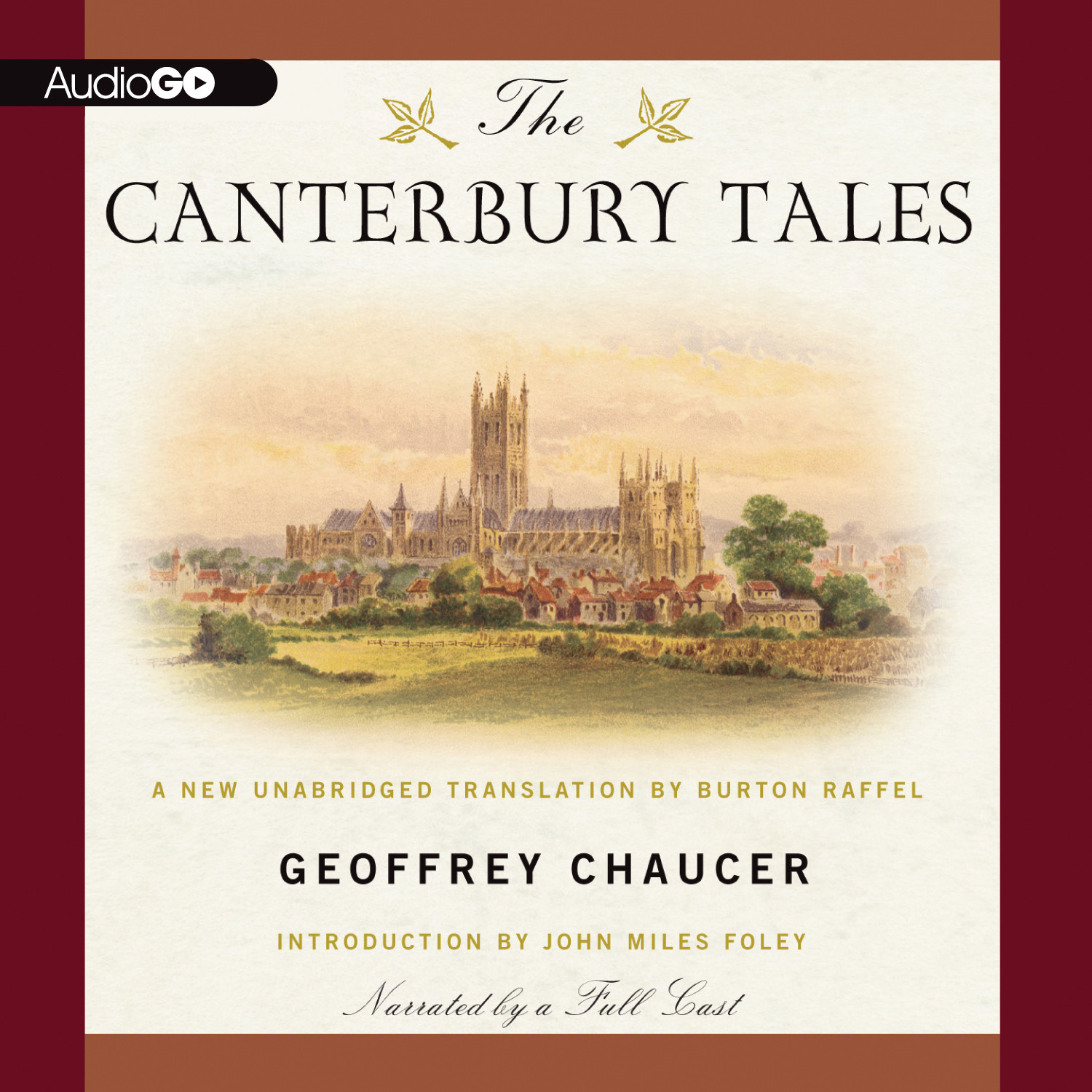Printable The Canterbury Tales Audiobook Cover Art