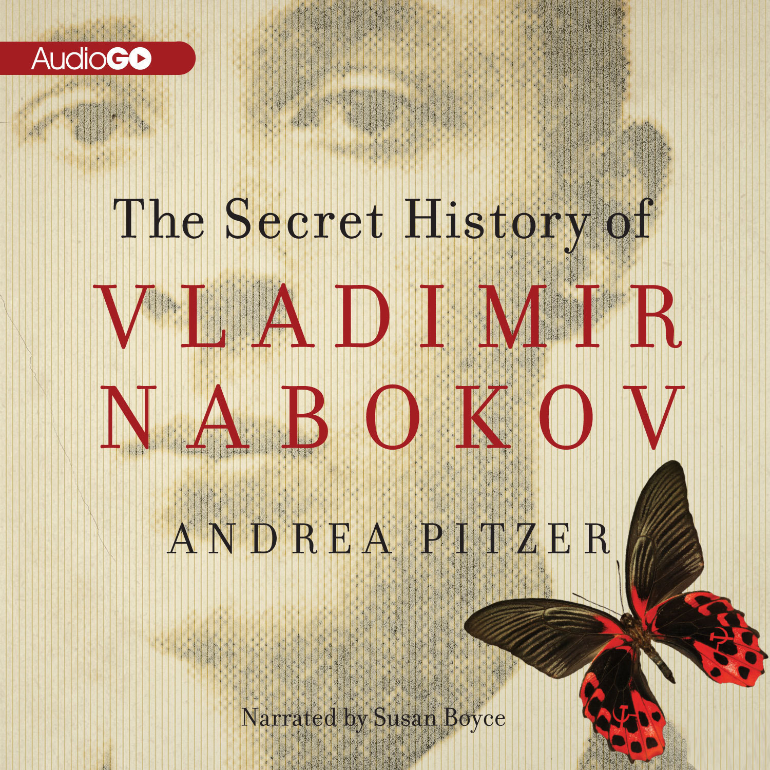 Printable The Secret History of Vladimir Nabokov Audiobook Cover Art