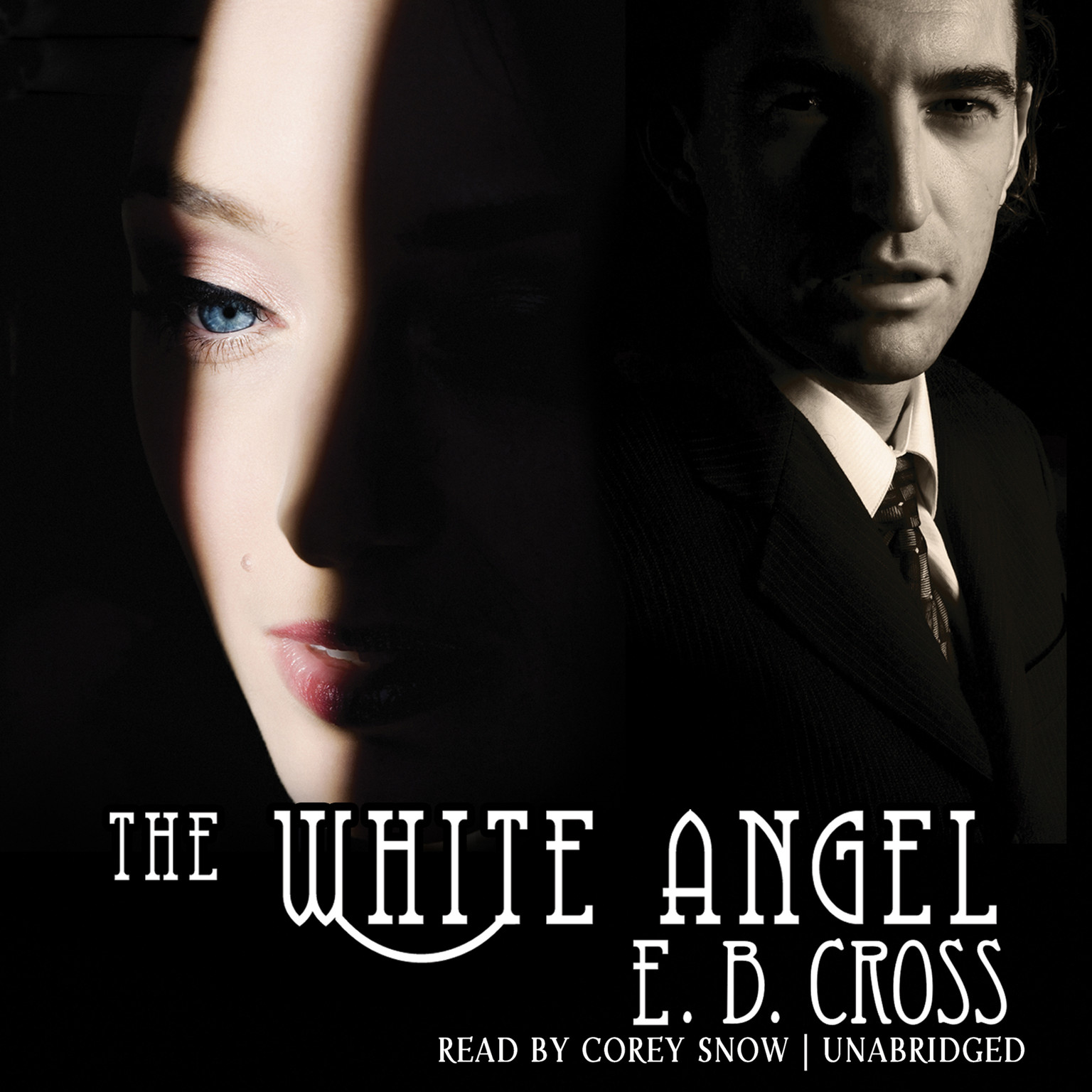 Printable The White Angel Audiobook Cover Art