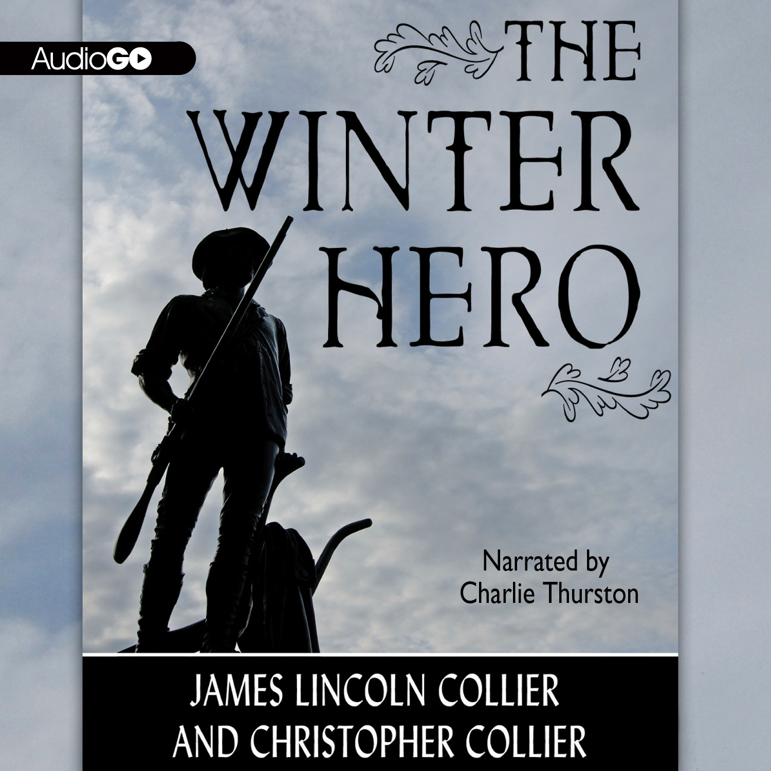 Printable The Winter Hero Audiobook Cover Art