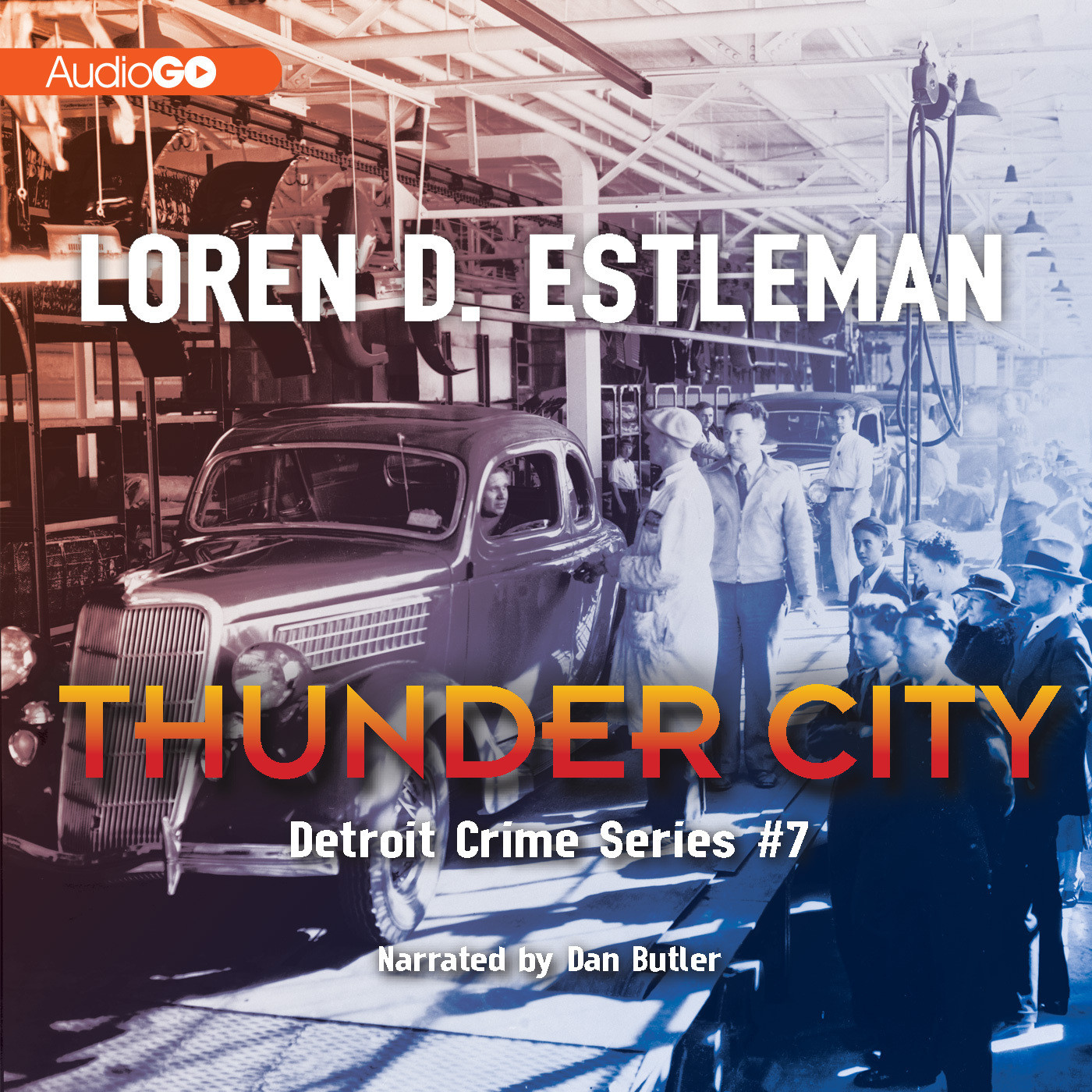 Printable Thunder City Audiobook Cover Art