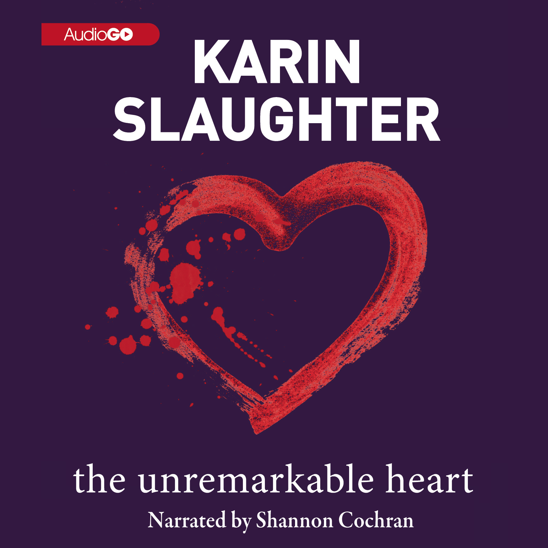 Printable The Unremarkable Heart Audiobook Cover Art