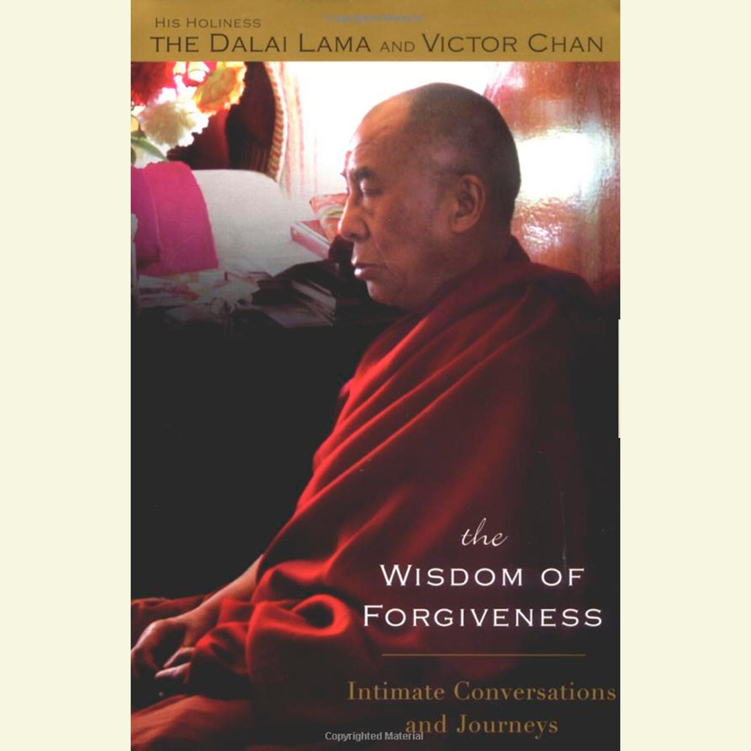 Printable The Wisdom of Forgiveness: Intimate Conversations and Journeys Audiobook Cover Art