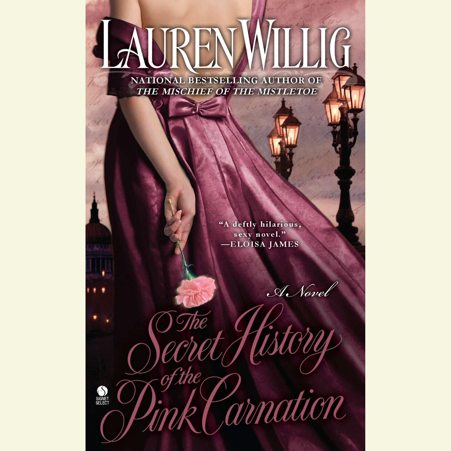Printable The Secret History of the Pink Carnation Audiobook Cover Art