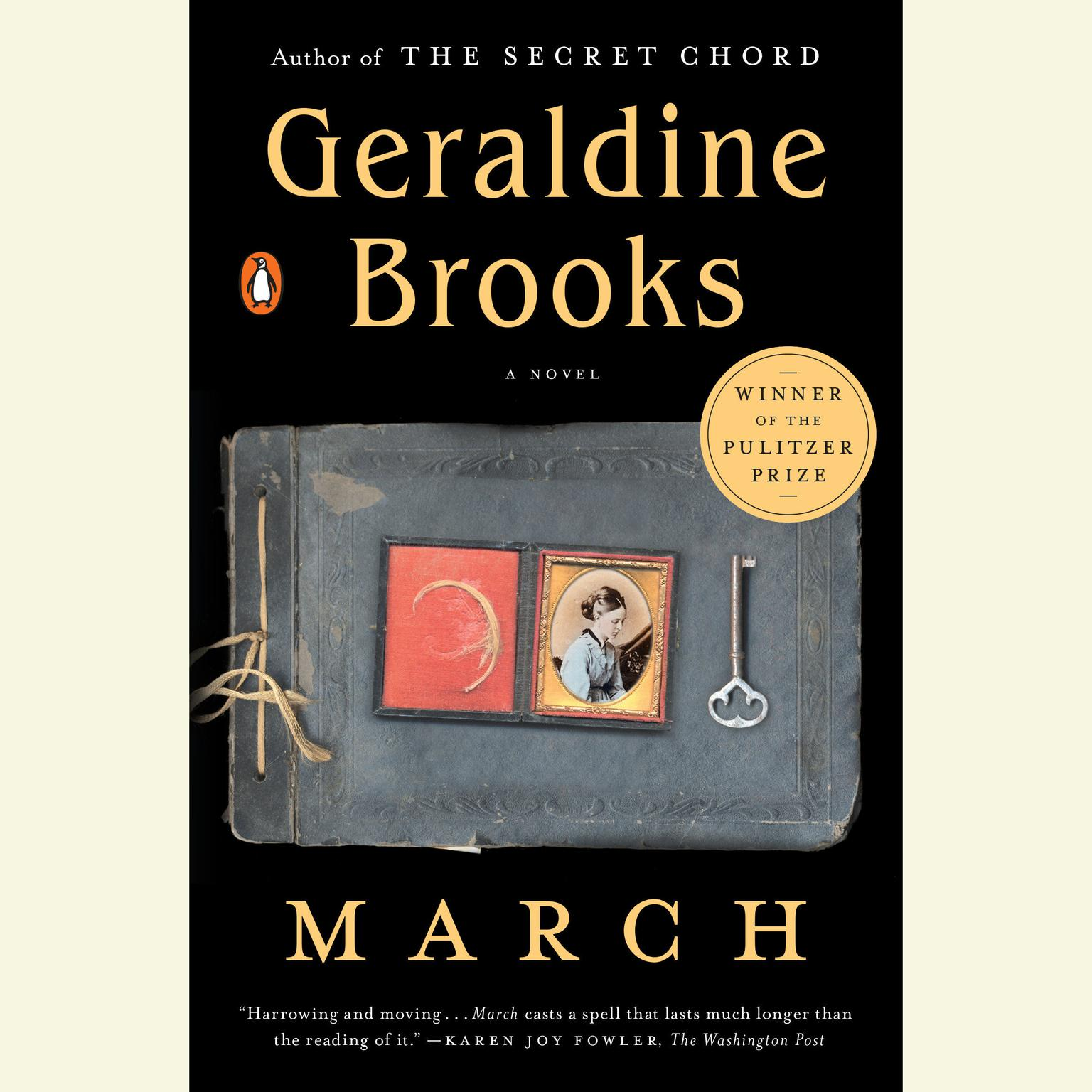 Printable March Audiobook Cover Art