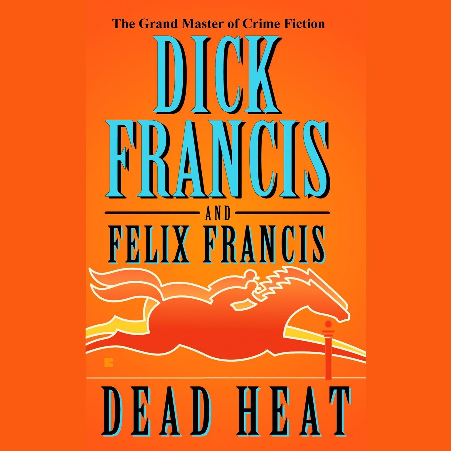 Printable Dead Heat Audiobook Cover Art