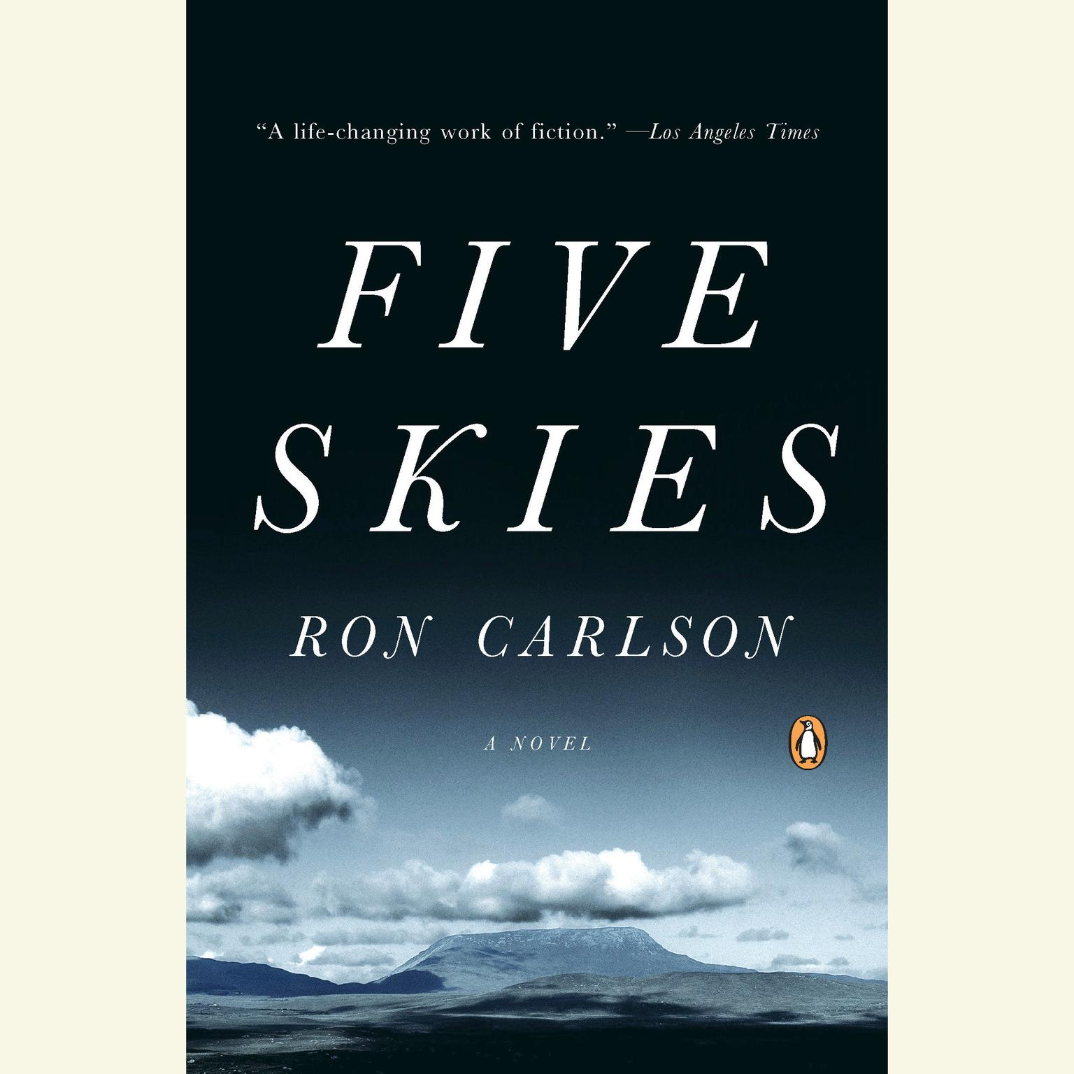 Printable Five Skies Audiobook Cover Art