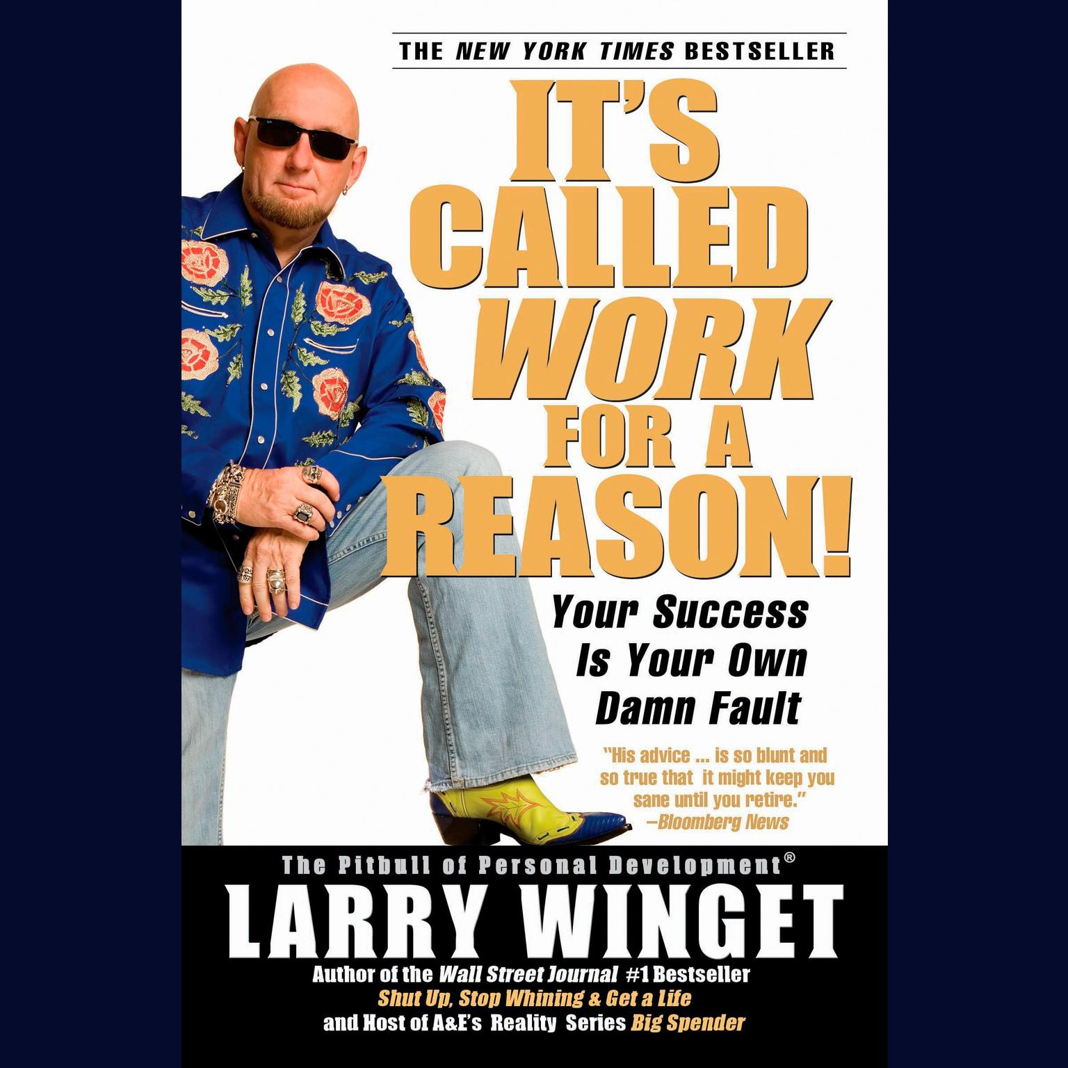 Printable It's Called Work for a Reason!: Your Success Is Your Own Damn Fault Audiobook Cover Art