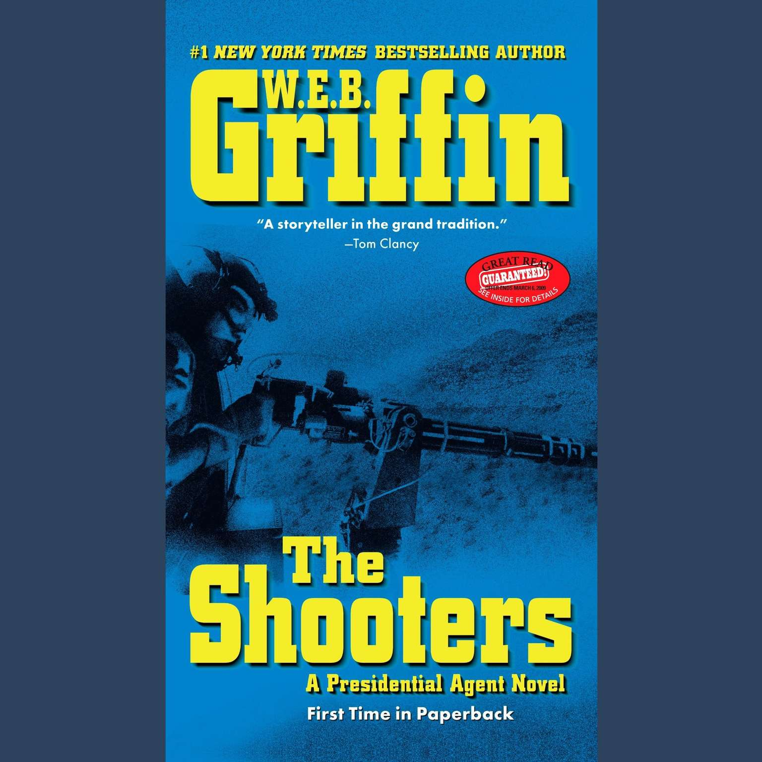 Printable The Shooters Audiobook Cover Art