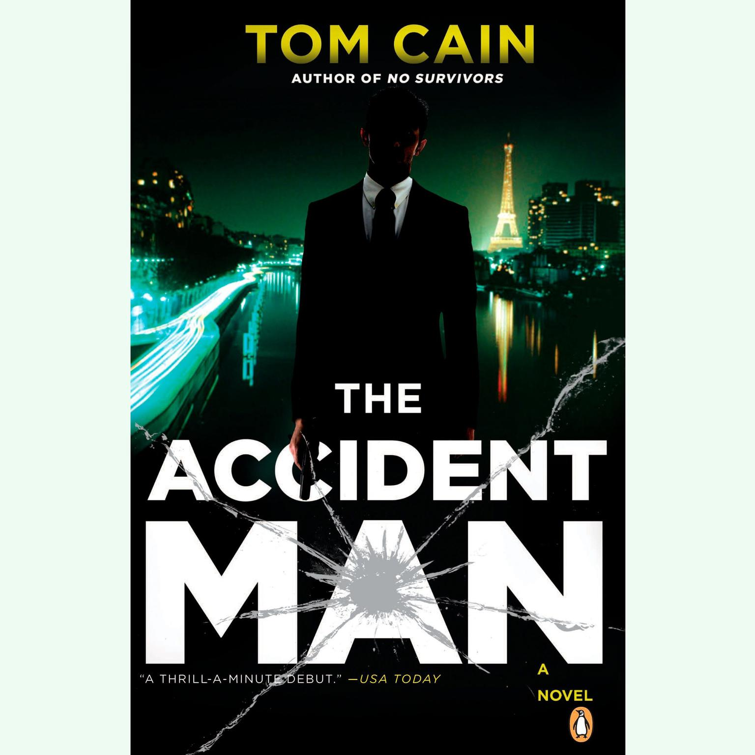 Printable The Accident Man: A Novel Audiobook Cover Art