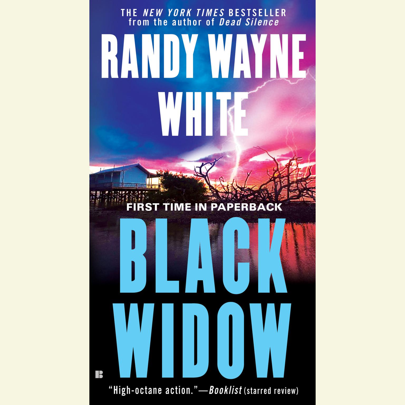 Printable Black Widow Audiobook Cover Art