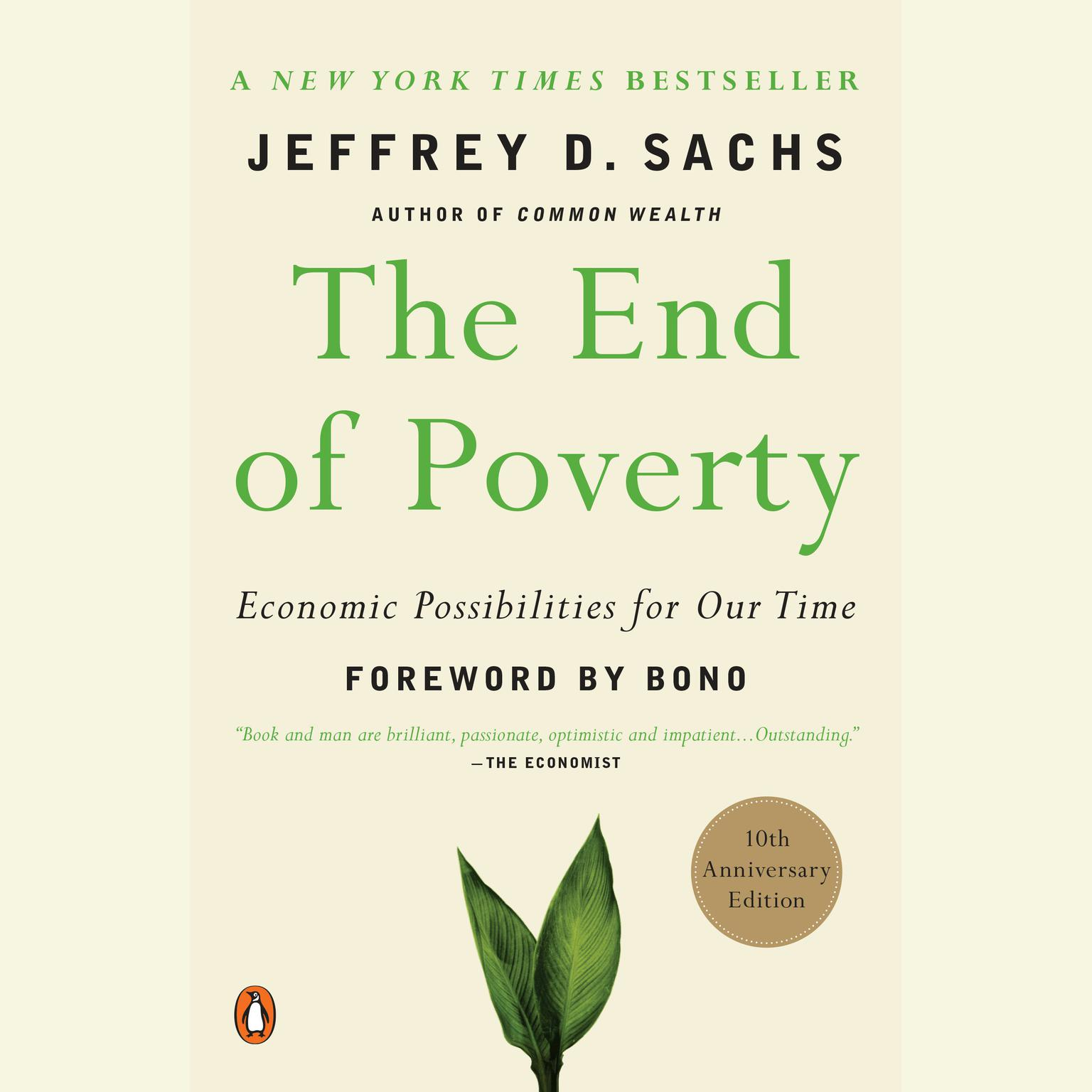 Printable The End of Poverty: Economic Possibilities for Our Time Audiobook Cover Art