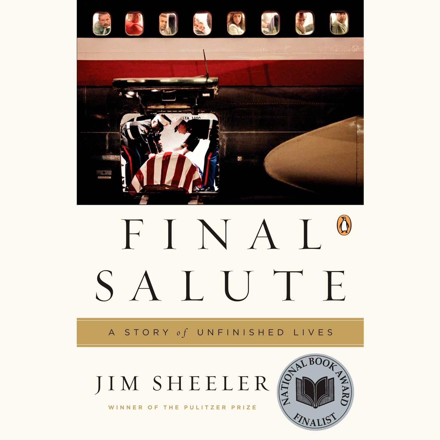 Printable Final Salute: A Story of Unfinished Lives Audiobook Cover Art