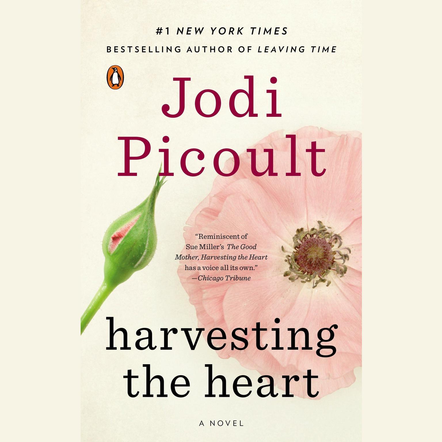 Printable Harvesting the Heart: A Novel Audiobook Cover Art