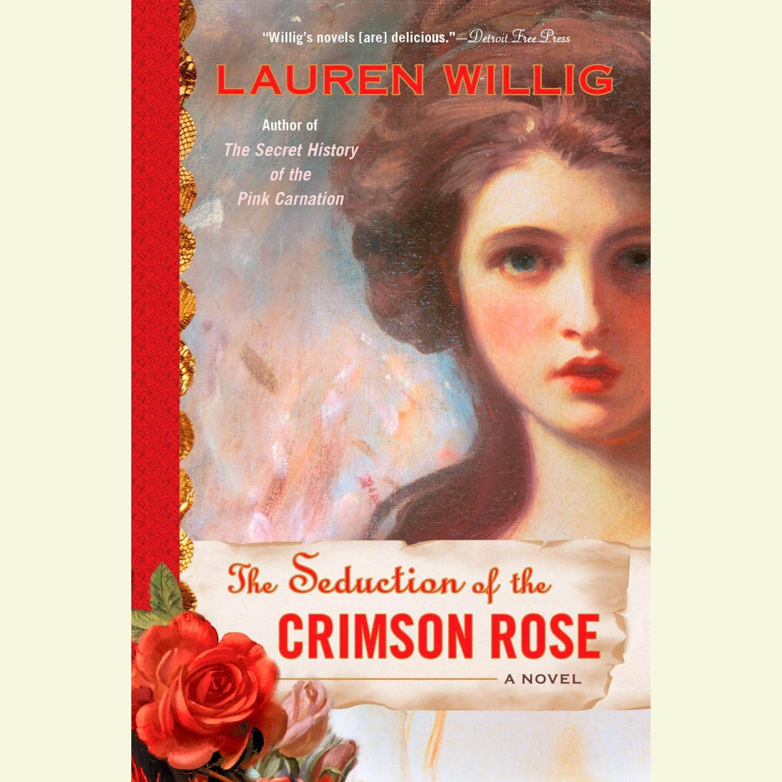 Printable The Seduction of the Crimson Rose Audiobook Cover Art