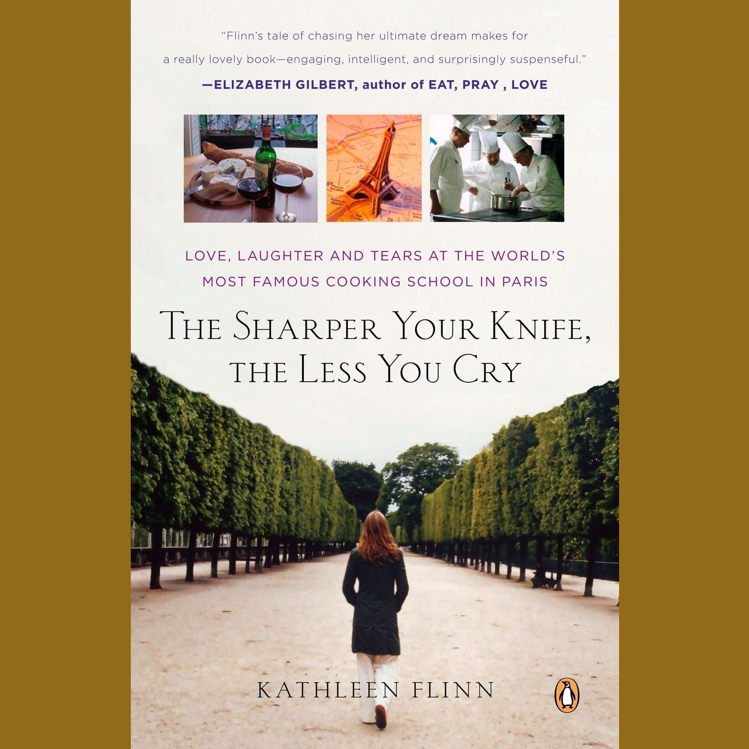 Printable The Sharper Your Knife, the Less You Cry: Love, Laughter, and Tears at the World's Most Famous Cooking School Audiobook Cover Art