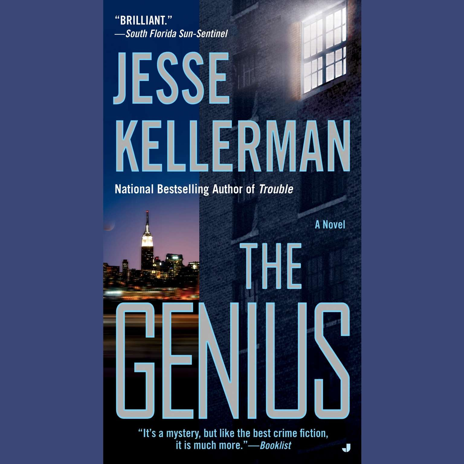 Printable The Genius Audiobook Cover Art