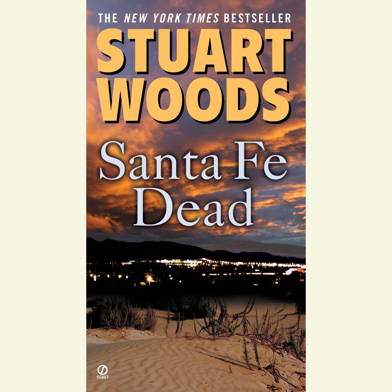Printable Santa Fe Dead Audiobook Cover Art