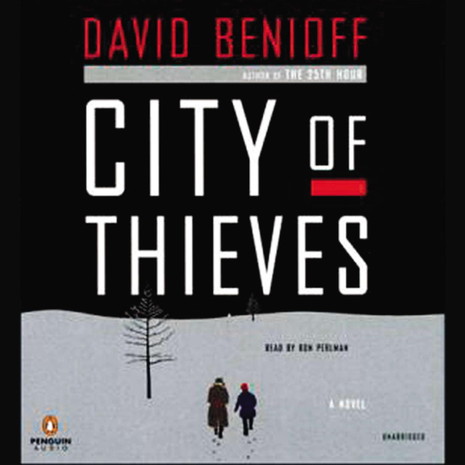 Printable City of Thieves: A Novel Audiobook Cover Art