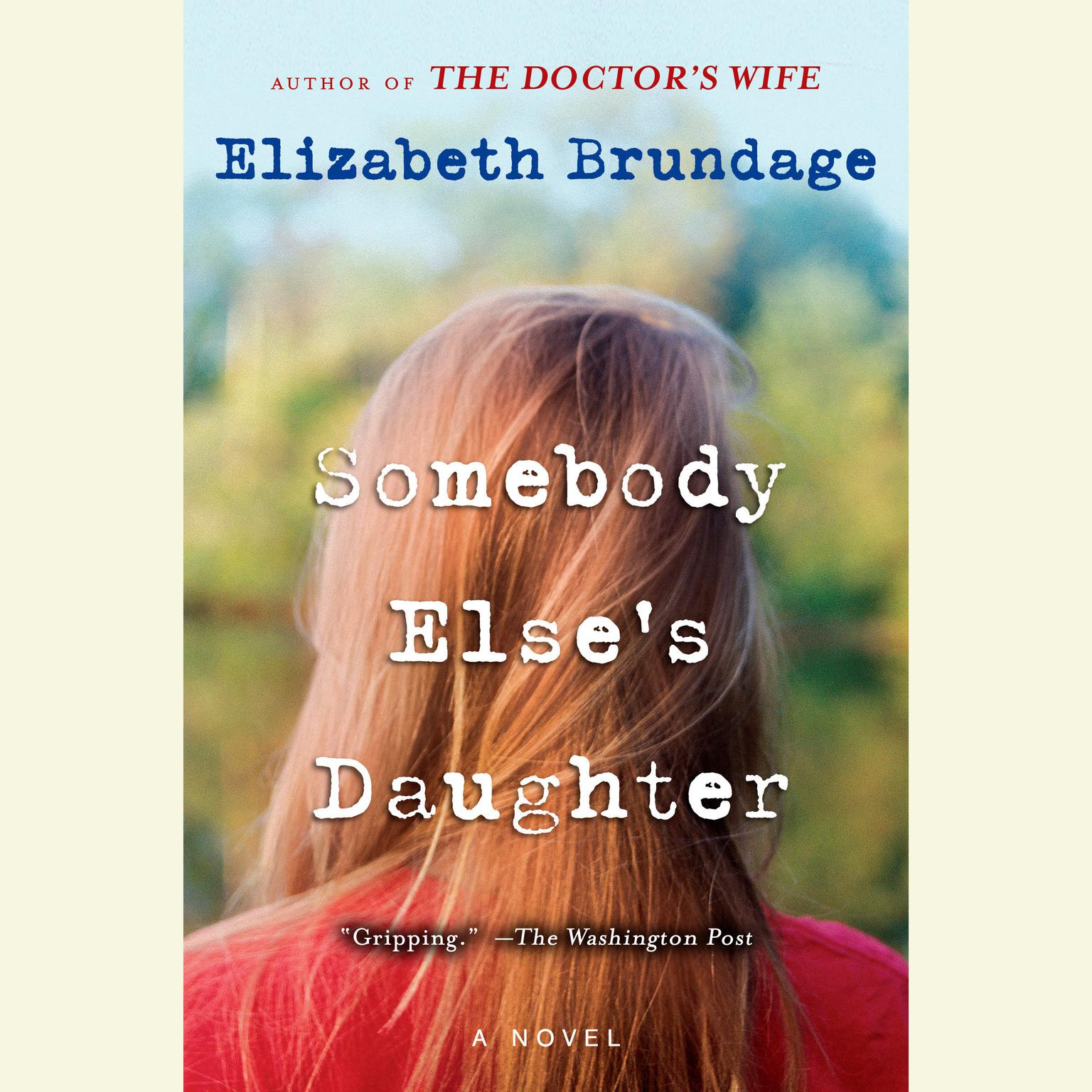 Printable Somebody Else's Daughter Audiobook Cover Art