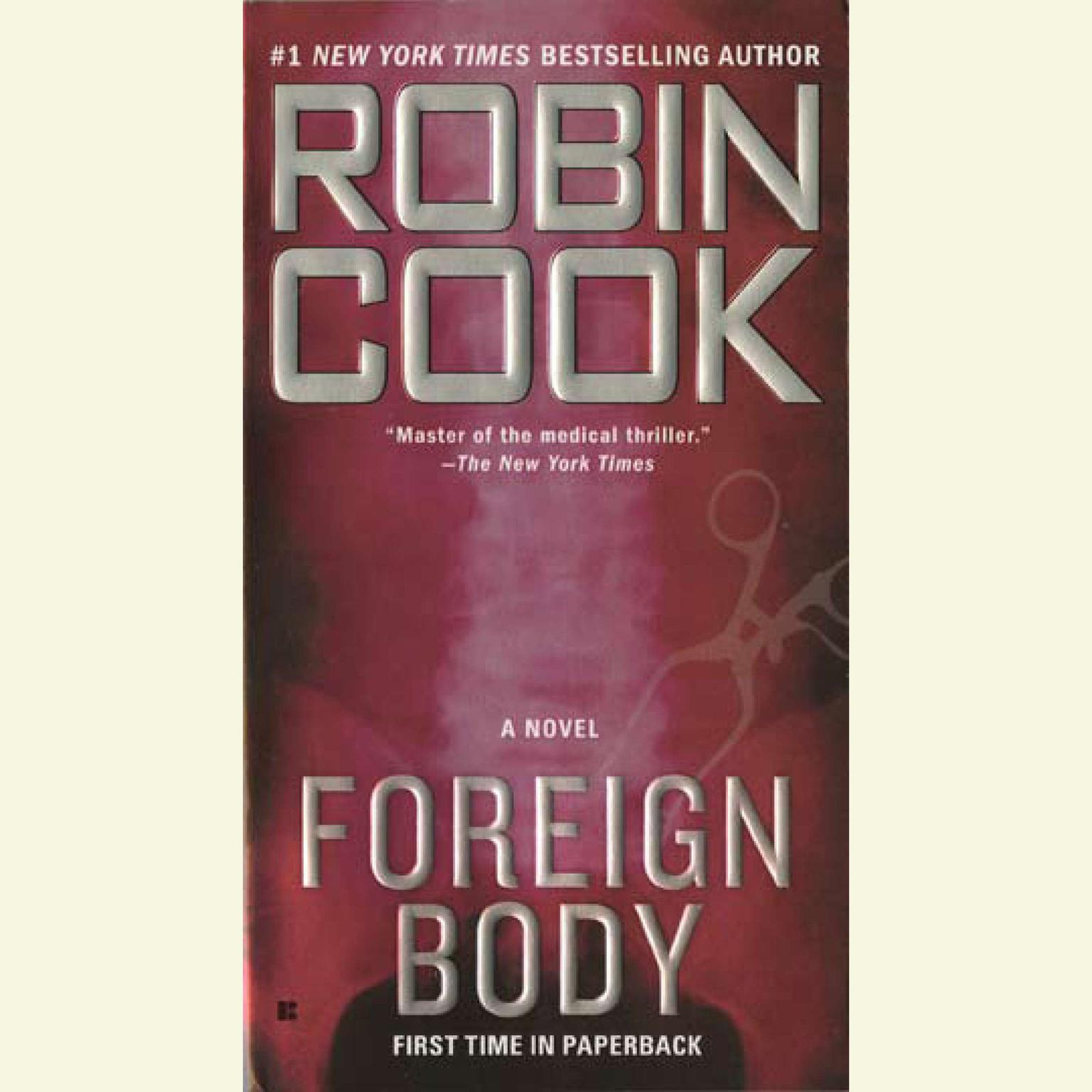 Printable Foreign Body Audiobook Cover Art