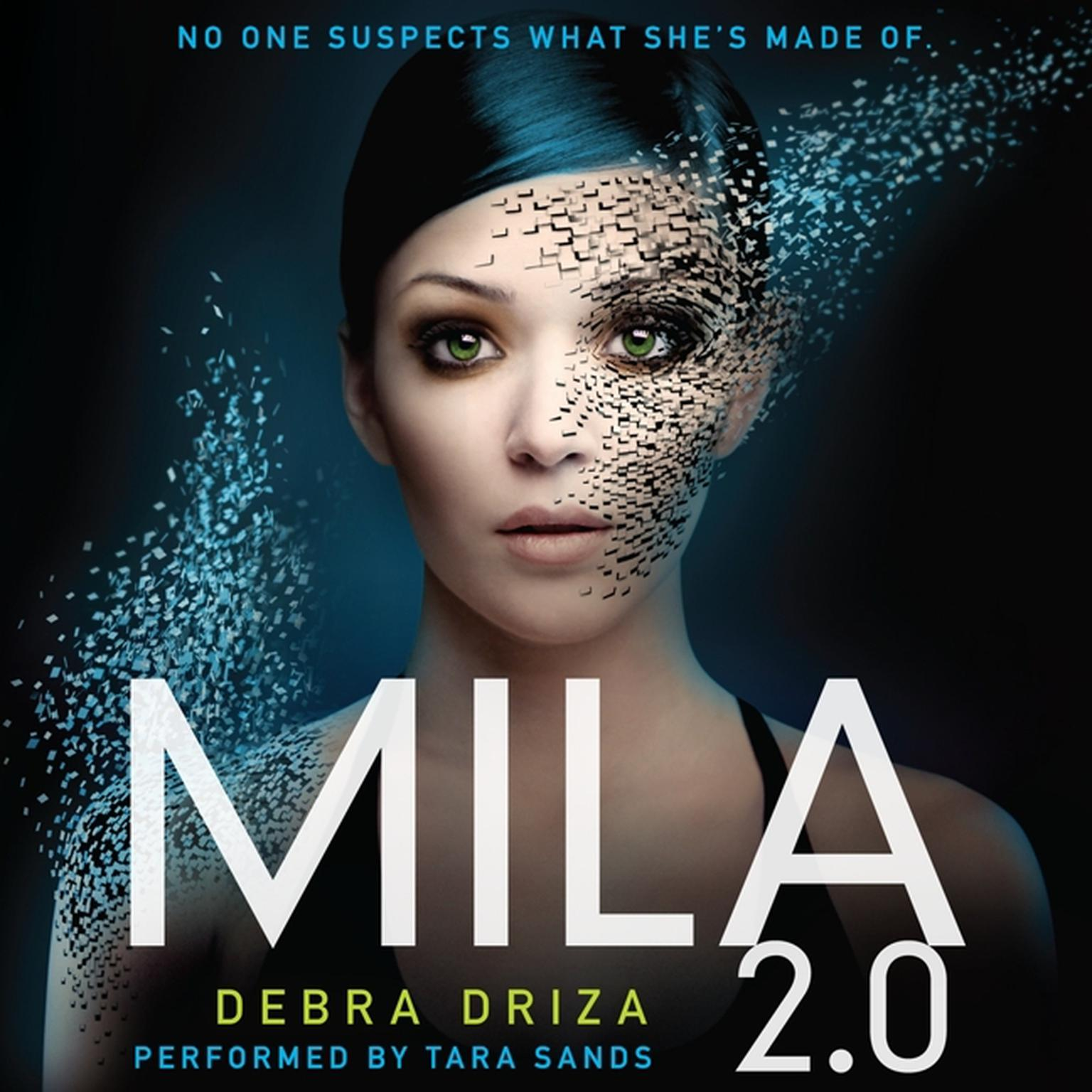 Printable MILA 2.0 Audiobook Cover Art