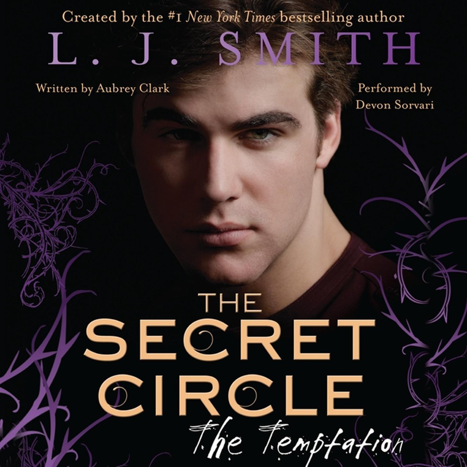 Printable The Secret Circle: The Temptation Audiobook Cover Art