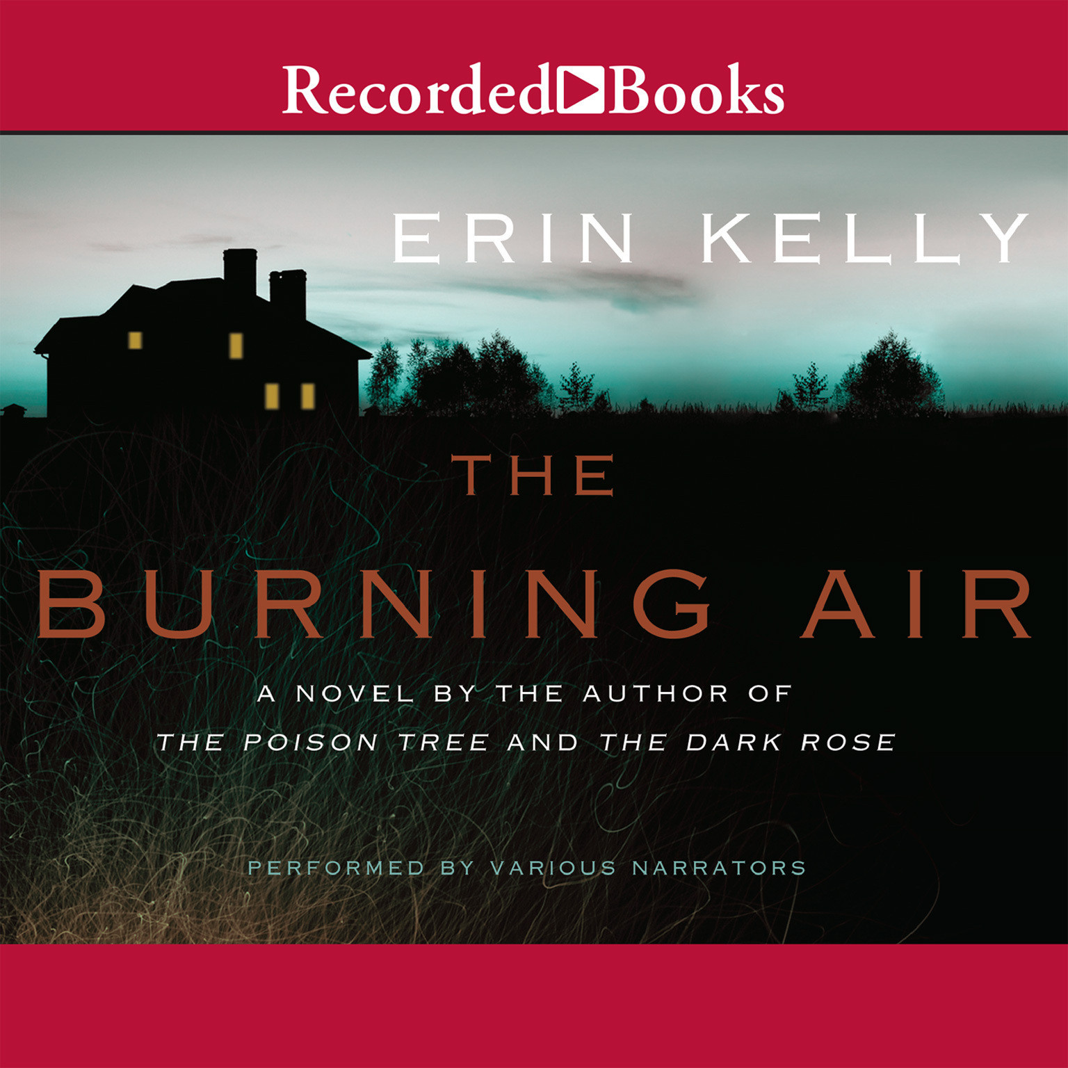 Printable The Burning Air Audiobook Cover Art