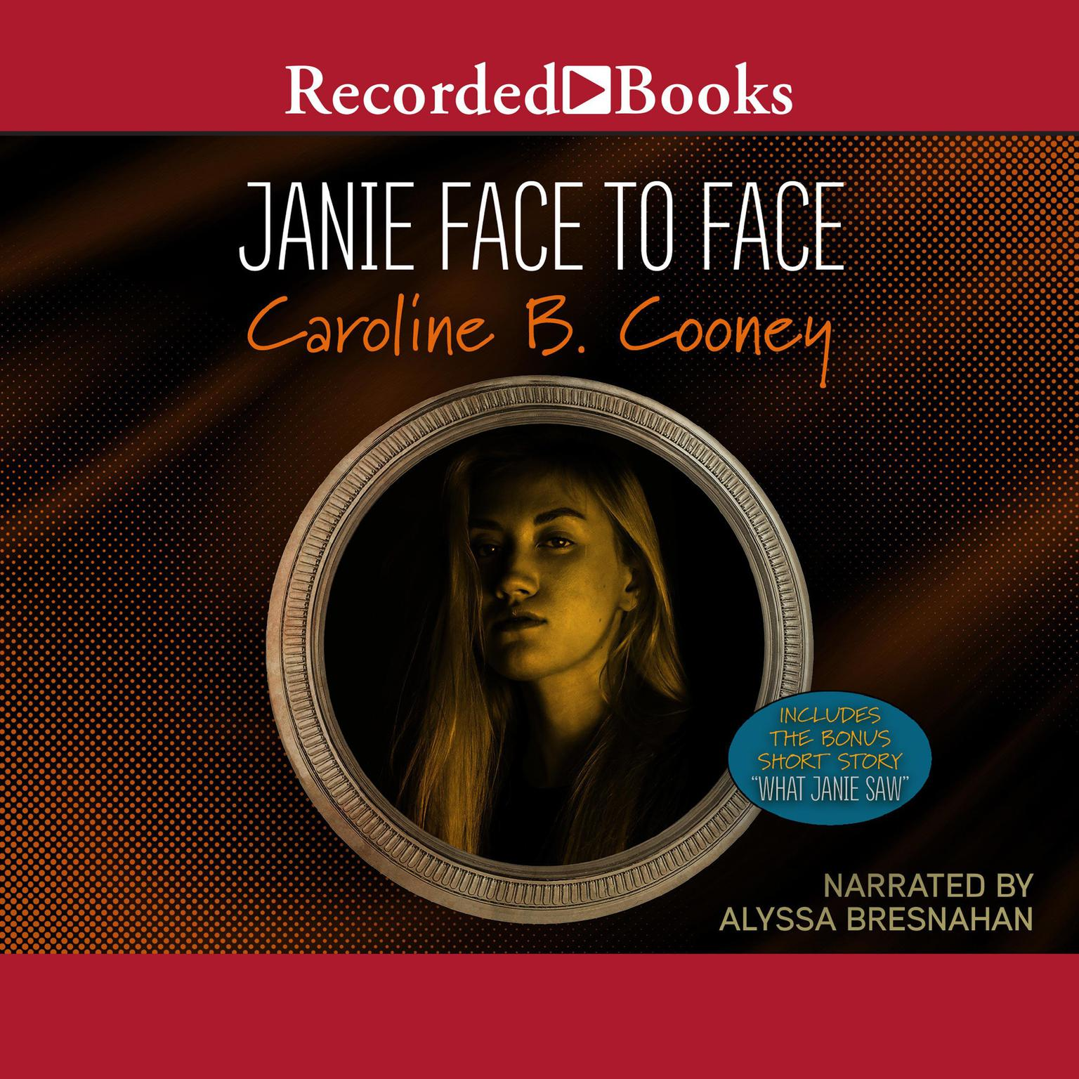 Printable Janie Face to Face: Includes the Bonus Short Story Audiobook Cover Art