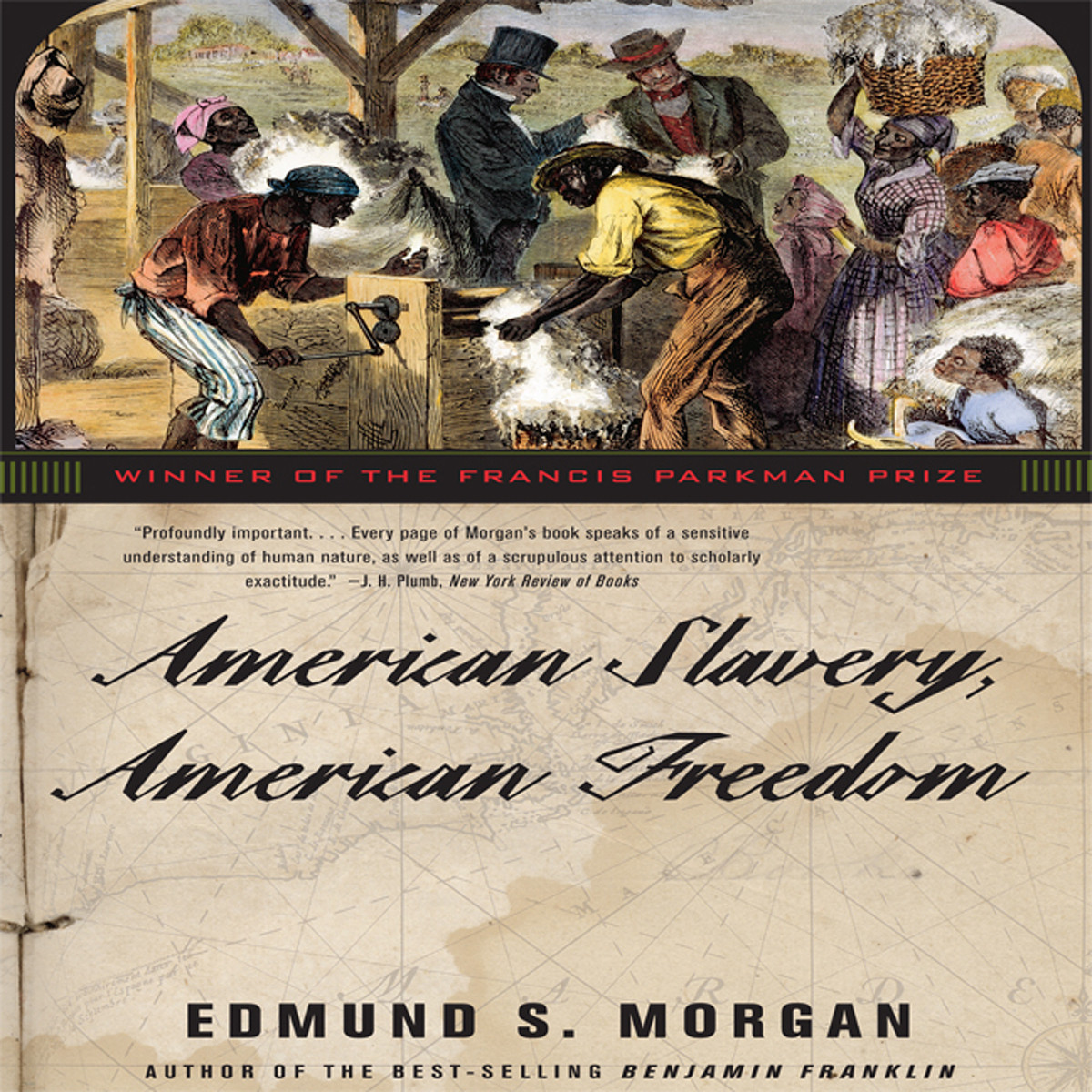 Printable American Slavery, American Freedom Audiobook Cover Art