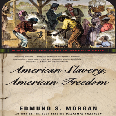 American Slavery, American Freedom Audiobook, by Edmund S. Morgan