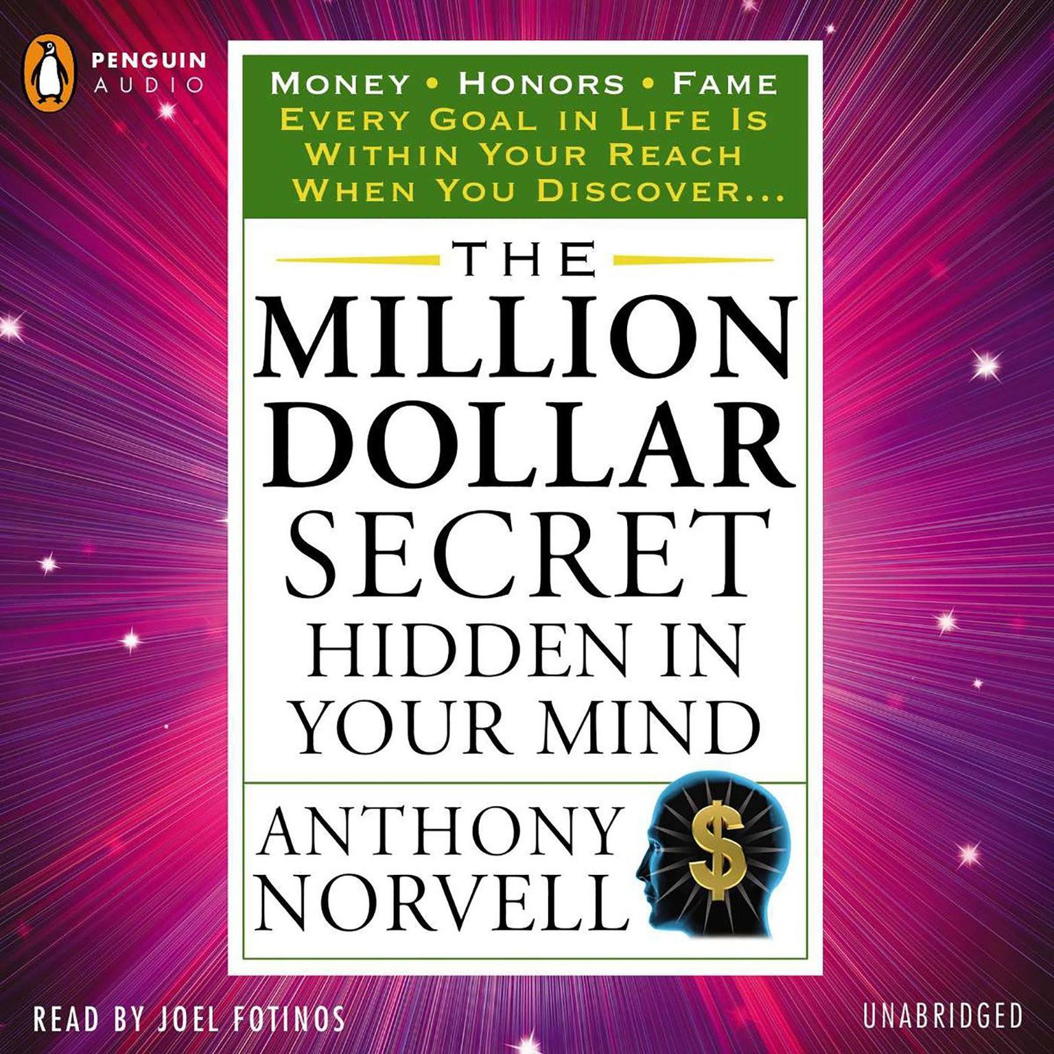 Printable The Million Dollar Secret Hidden in Your Mind: Money Honors Fame Audiobook Cover Art