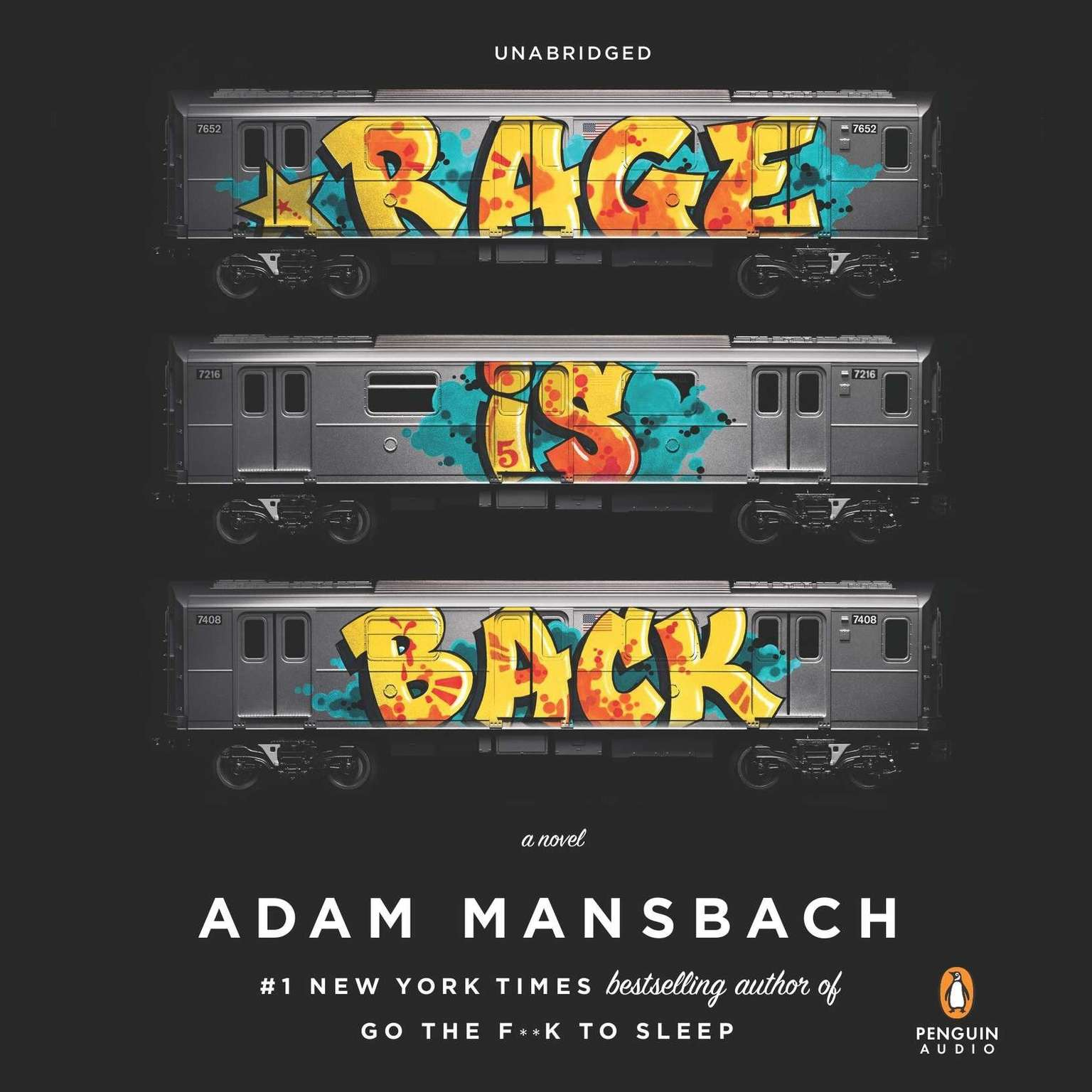 Printable Rage Is Back: A Novel Audiobook Cover Art
