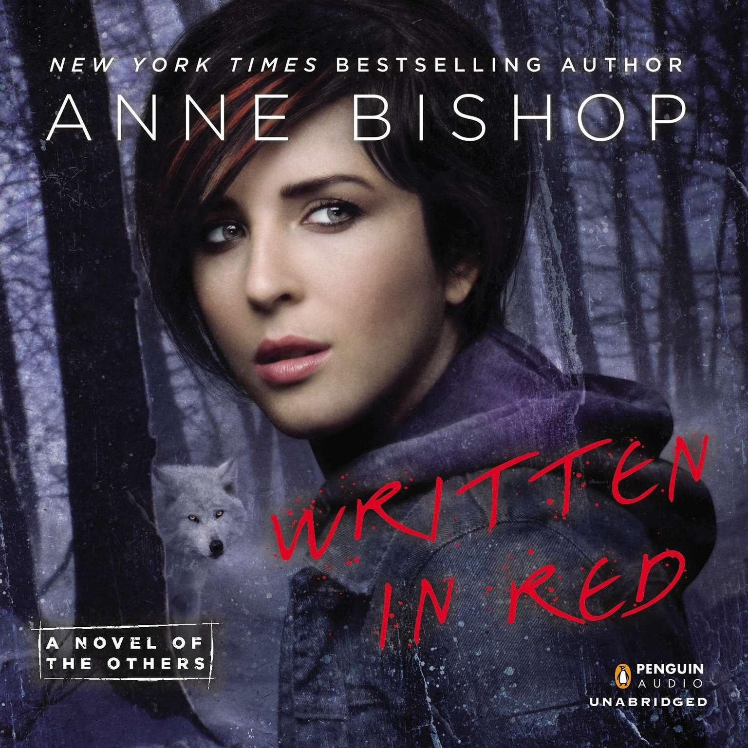 Printable Written in Red: A Novel of the Others Audiobook Cover Art