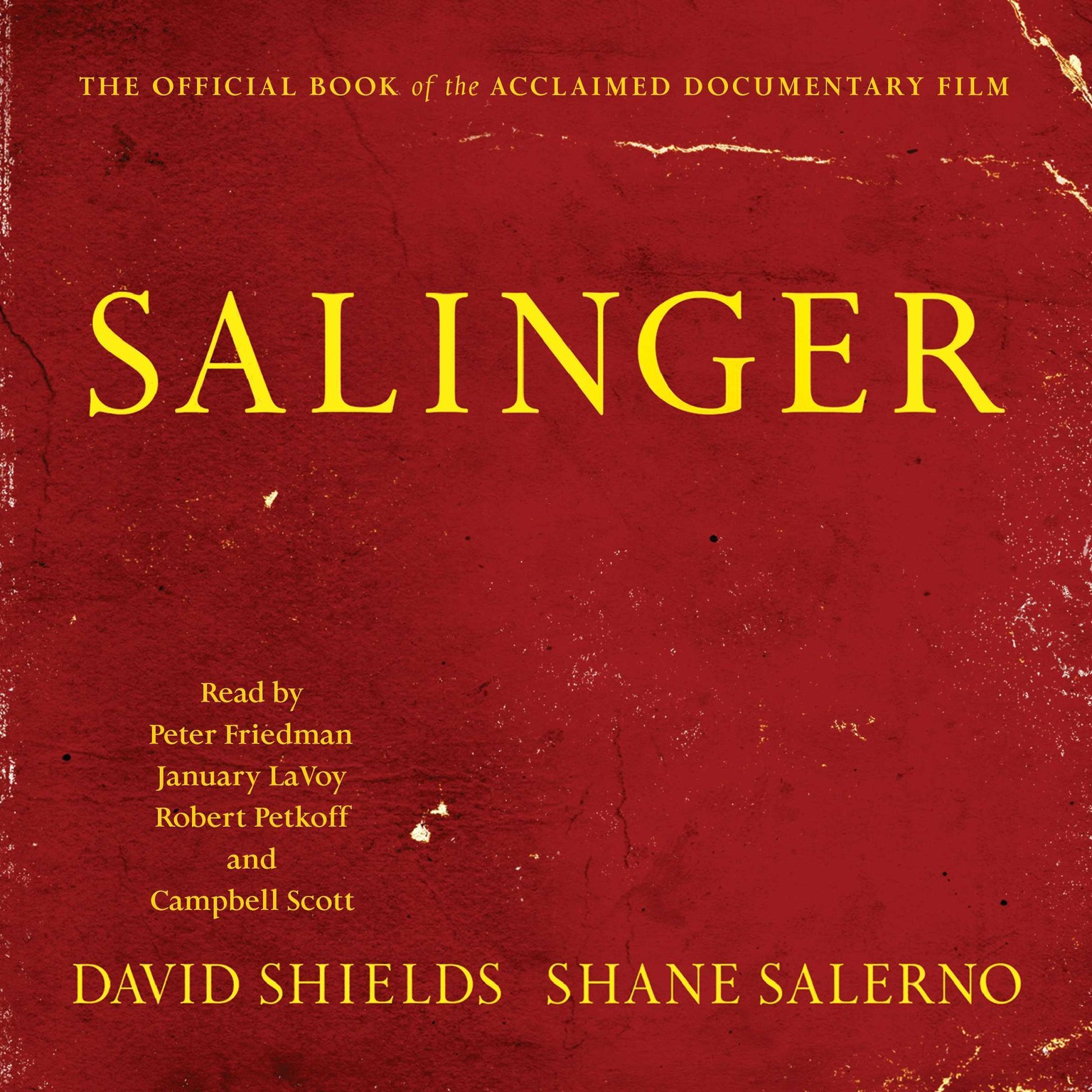 Printable Salinger Audiobook Cover Art