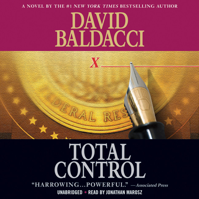 Printable Total Control Audiobook Cover Art