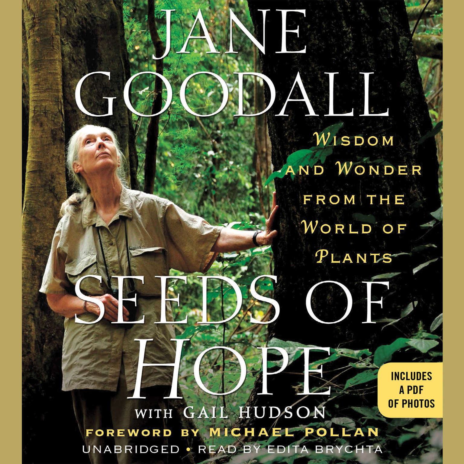 Printable Seeds of Hope: Wisdom and Wonder from the World of Plants Audiobook Cover Art