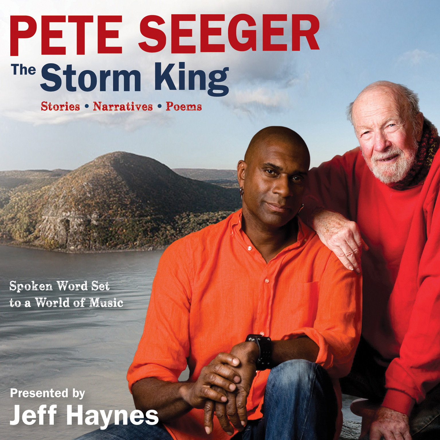 Printable Pete Seeger: The Storm King: Stories, Narratives, Poems: Spoken Word Set to a World of Music Audiobook Cover Art