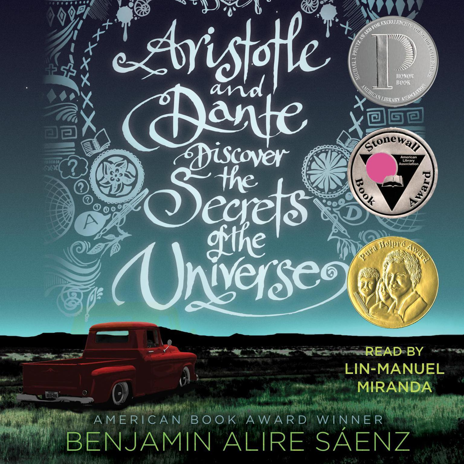 Printable Aristotle and Dante Discover the Secrets of the Universe Audiobook Cover Art