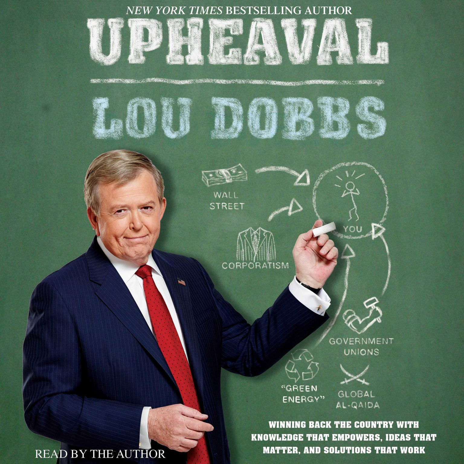 Printable Upheaval: Winning Back the Country with Knowledge That Empowers, Ideas That Matter, Audiobook Cover Art